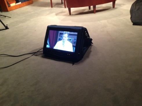 Makeup for TV Interview Baptist Hospital